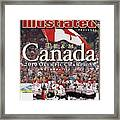 Ice Hockey, 2010 Winter Olympics Sports Illustrated Cover Framed Print