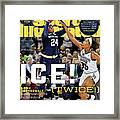 Ice Twice Arike Ogunbowale Brings Home The Title For Notre Sports Illustrated Cover Framed Print