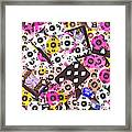 In Casino Colors Framed Print