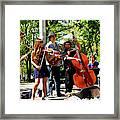 Jazz Musicians Framed Print