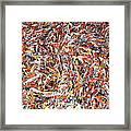 Koi Jigsaw Framed Print