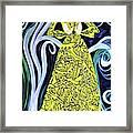 Lady Lou Framed Print