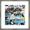 Lights, Cam Action Cam Newton Sports Illustrated Cover Framed Print