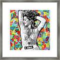 Madonna Boy Toy Framed Print