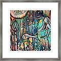 Mermaids Dream Framed Print