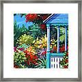 Mr Bodden's Garden Framed Print
