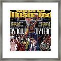 My Town, My Team LeBron James And The Cavaliers Take The Sports Illustrated Cover Framed Print
