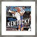 Ncaa Basketball Tournament - Final Four - Championship Sports Illustrated Cover Framed Print