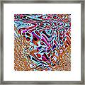 Net Full Of Abstracts 5b Framed Print