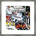 New York Rangers Goalie Mike Richter, 1994 Nhl Stanley Cup Sports Illustrated Cover Framed Print