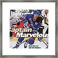 New York Rangers Mark Messier, 1994 Nhl Stanley Cup Finals Sports Illustrated Cover Framed Print