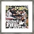 New York Yankees, 1998 World Series Sports Illustrated Cover Framed Print