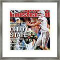 Ohio State University Qb Craig Krenzel, 2003 Tostitos Sports Illustrated Cover Framed Print