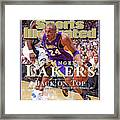 Orlando Magic Vs Los Angeles Lakers, 2009 Nba Finals Sports Illustrated Cover Framed Print