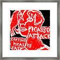 Pablo Picasso Attack 6 Framed Print