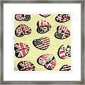 Patriotic Picks Framed Print