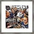 Perfect 10 Geno Auriemma, In His Own Direct Unapologetic Sports Illustrated Cover Framed Print