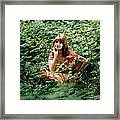 Photo Of 70s Style Framed Print