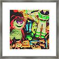 Play In Imagination Framed Print