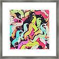 Pop Art Moes Framed Print