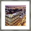Prague Lights Framed Print