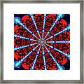 Red Steel Framed Print