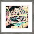 Retro Roadvival Framed Print