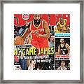 Rocket Power: Big Game James SLAM Cover Framed Print