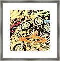 Rocky Racers Framed Print