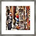 Scanno, Strada Abrami Framed Print