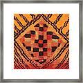 Shaman Tribal Badge Framed Print