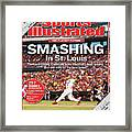 Smashing In St. Louis Sports Illustrated Cover Framed Print