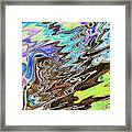 Space-Time Continuum Framed Print