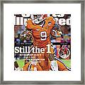 Still The 1, But Clemson Hasnt Had A Test Like The Rolling Sports Illustrated Cover Framed Print