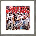Super Bowl Xlvi... Sports Illustrated Cover Framed Print