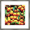 Sweet Oranges Framed Print
