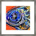 Tenured Acrimonious Fish Framed Print