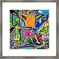 The Art Critic Framed Print