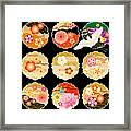 The Beautiful Pattern Of Japan Framed Print