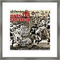 The Best Game Ever 1958 Colts Vs. Giants Sports Illustrated Cover Framed Print