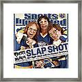 The Hanson Brothers Sports Illustrated Cover Framed Print