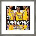 The Lakers SLAM Cover Framed Print
