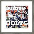 The Nfl Playoffs The Case For . . . Philip Rivers Bolts Sports Illustrated Cover Framed Print