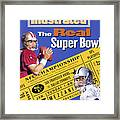 The Real Super Bowl, 1995 Nfc Championship Preview Sports Illustrated Cover Framed Print
