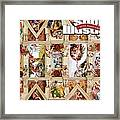 The Sistine Chapel Of Sports, 50th Anniversary Issue Sports Illustrated Cover Framed Print