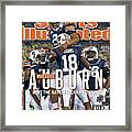 Tostitos Bcs National Championship Game - Oregon V Auburn Sports Illustrated Cover Framed Print