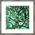 Tree Of Life Abstract Expressionism Framed Print