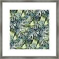 Tropical Leaves I Framed Print