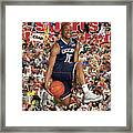 University Of Connecticut Kemba Walker, 2011 March Madness Sports Illustrated Cover Framed Print