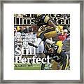 University Of Iowa Derrell Johnson-koulianos Sports Illustrated Cover Framed Print